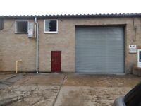 'TO LET' Industrial Unit with B2 General Industrial Use and Mezzanine floors: Whittlesford Cambridge