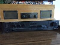 Steepletone Norwich Retro Wooden Record Player - faulty or for parts!!