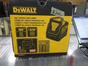 Dewalt DW0811 Self Leveling 360 Degree Line And Vertical Line Laser Level