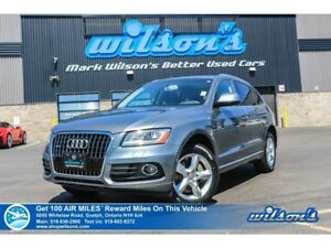 2015 Audi Q5 3.0T Progressiv | AWD | NAV | LEATHER | PANO ROOF