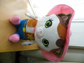Disney Soft Plush Talking Sheriff Callie - Ex Cond