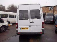 mercedes benz sprinter disabled minibus