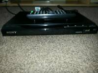 Sony DVD Player with HDMI and USB