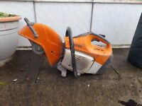 ts 410 stihl saw good condition starts great runs great new filters.