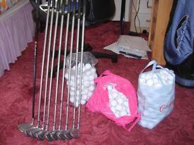 Set of Callaway X16 Steelhead irons 4-SI