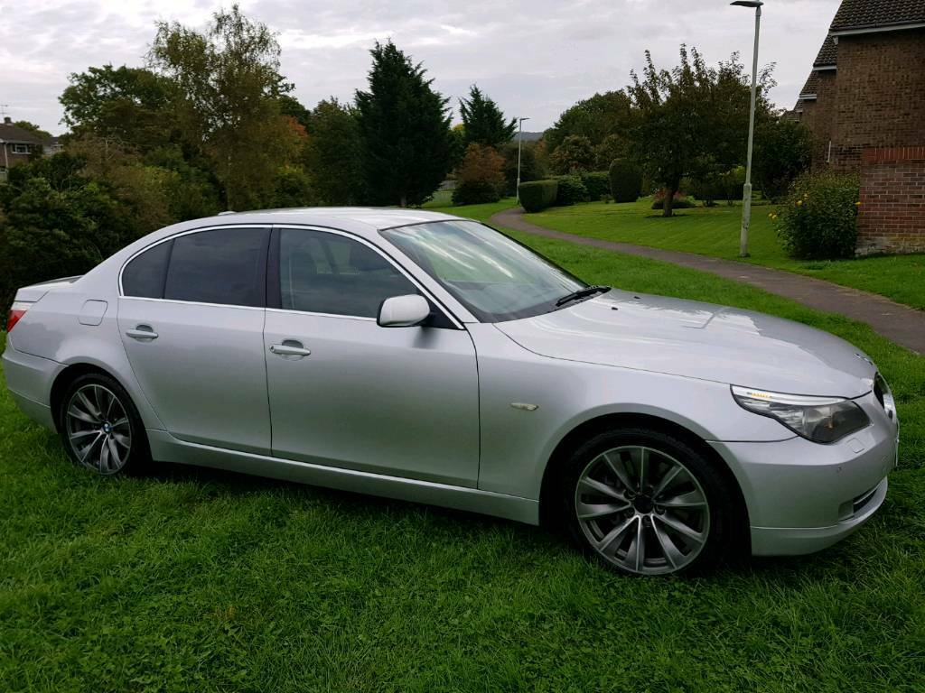 2008 BMW 520 D 2.0 SE DIESEL AUTOMATIC 1 YEARS MOT & FULL HISTORY