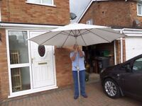 £20 for this white parasol
