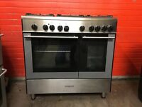 Kenwood range dual gas cooker CK404FS 90cm S/S FSD double oven 3 months warranty free local delivery