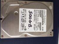Hitachi Deskstar 500GB SATA 3.0Gb Hard Disk drive (HDD)