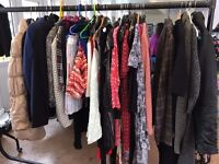 Ladies Clothing - A Bundle of approx 90 pieces including dresses/tops/trs/jkts