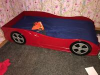 Car racing bed