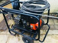 Diesel pressure washer 200 Bar power jet wash