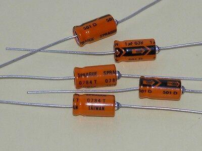 4pk - 1uf63v Axial Capacitors - Sprague