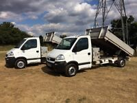 VAUXHALL MOVANO 2.5 DIESEL TIPPER TRUCK 2007 REG FULL SERVICE HISTORY DRIVES EXCELLENT