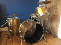 Vintage Hayman drum kit - gold