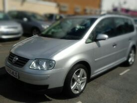 Touran 7 seats 1.9 diesel with full service history.