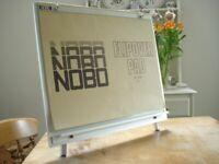 NOBO desktop flipchart + paper