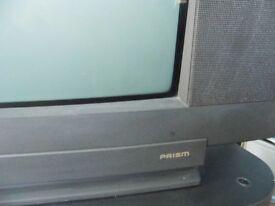 1990's style Panasonic television.