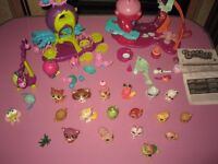 Zooble Paysets and lots of Littlest Pet Shop Animals