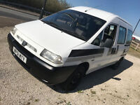 2002 Citroen Dispatch 6 Seater bus 1.9 diesel - wheel chair ramp / motorbike transporter recovery