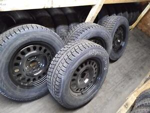 JEEP GRAND CHEROKEE DODGE DURANGO WINTER RIMS AND TIRES LIKE NEW SET 265/60R18 TOYO OBSERVE GSI-5 265/60R/18 5 X 127