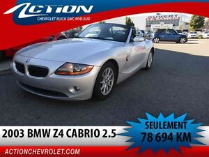 2003 BMW Z4 2.5i, CABRIO,AIR,78 694 KM