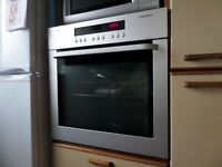 AEG built in single fan oven