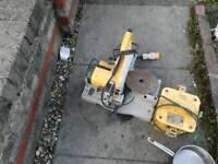 Dwalt 110 chop with transformer