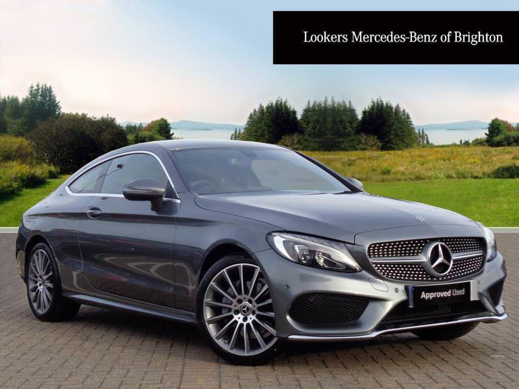 mercedes benz c class c 220 d amg line grey 2018 03 09 in portslade east sussex gumtree. Black Bedroom Furniture Sets. Home Design Ideas