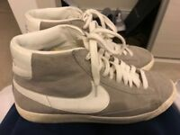 Mens Nike hi tops grey size 8.5