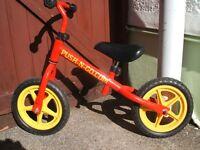 Balance bike for boy or girl