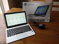HP Pavilion x2 10 32GB SSD 2GB RAM Windows 10 Laptop/Tablet