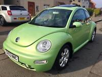 Immaculate vw Beetle. Automatic. Long mot