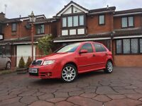 Skoda fabia VRS, FSH, 1 previous owner, mint