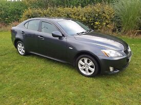 2007 (56) LEXUS IS220D SE MOT OCT 2017, SOME HISTORY, ALLOYS, FIRST TIME START, PX TO CLEAR