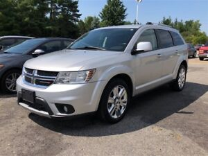 2012 Dodge Journey R/T / AWD / LEATHER / CHROME RIMS / HEATED SE