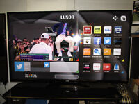 "EX DISPLAY LUXOR 50"" FULL 1080P HD READY LED SMART TV."