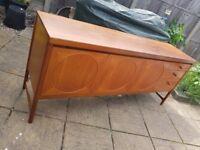 "Nathan ""Circles"" 1960's sideboard. Vintage/retro furniture, vintage sideboard"