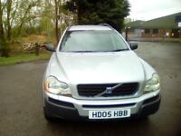 VOLVO XC90 T6 SE AWD 2005 completely new engine at 91k miles, 12month MOT