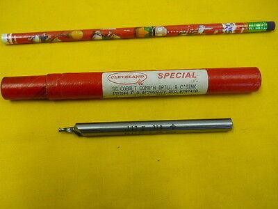 New Combo Drill Countersink .117 X .318 Lathe Mill Tool Bit Ctd Usa Cobalt