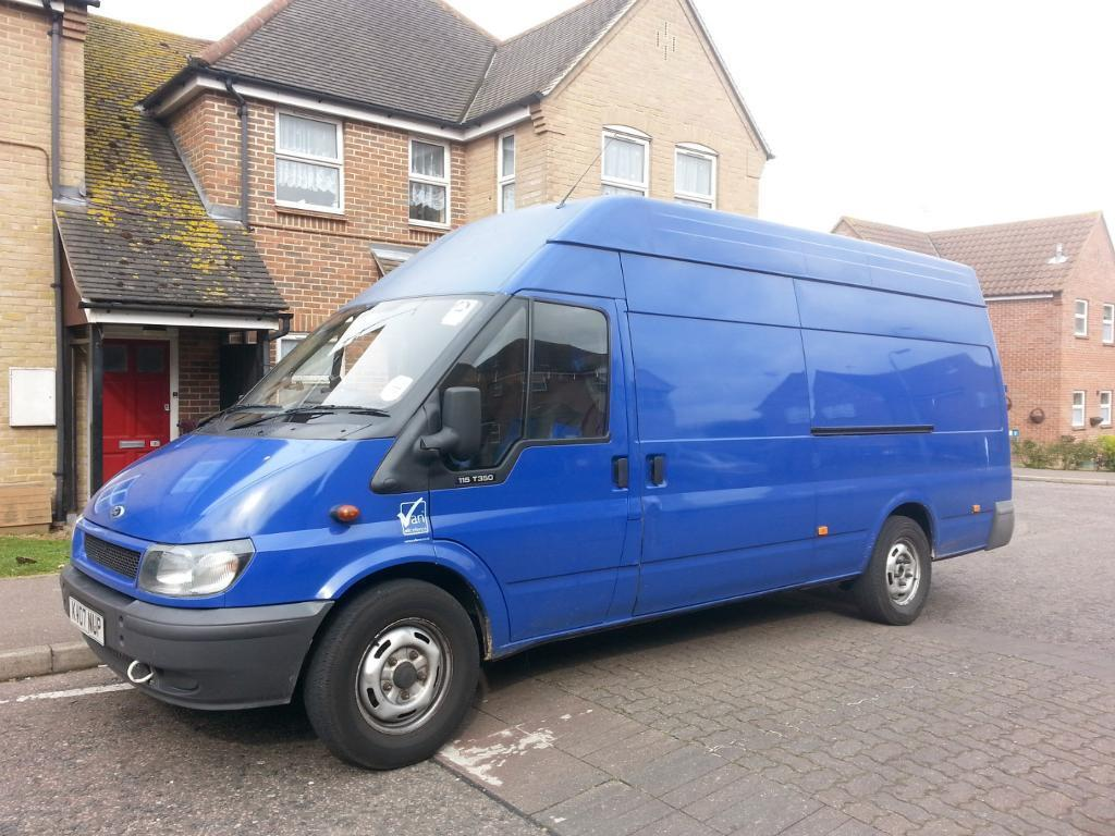 Man and van for hire based in southend on sea