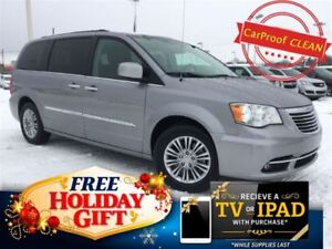 2015 Chrysler Town & Country Touring-L (Dual DVD, Heated Leather