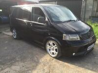 Vw transporter t5 1.9tdi shuttle 6 seater
