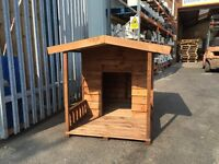 Kennel with porch