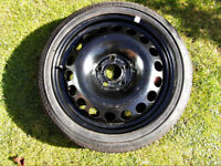 Space Saver Wheel & Tyre for Vauxhall Astra J