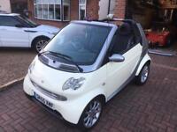 Smart Car Convertible City Passion £30 road tax