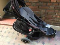 Phil&Ted dot double pushchair stroller