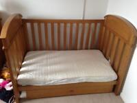 Boori Classic Cot bed, Chest of Drawers and Toybox