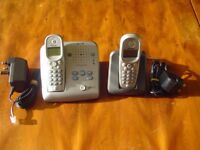***Philips Onis Vox 300 Digital Handsfree Answer Phone Sms Function/Alarm***