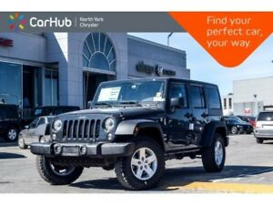 2018 Jeep Wrangler New Car Sport 4x4|Cold Wthr.,LED,Connect.,Pwr